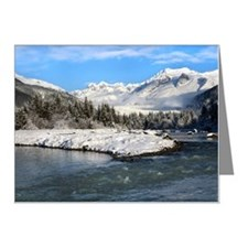 River, Glacier, and Mountain Note Cards (Pk of 20)