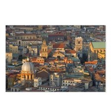 Aerial view of Naples, It Postcards (Package of 8)