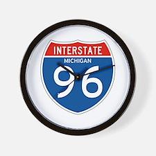 Interstate 96 - MI Wall Clock