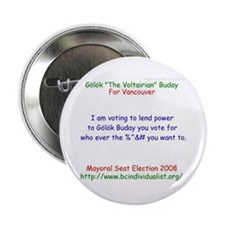 """Buday 2008 2.25"""" Button (100 pack)"""