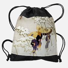 Unique Classical painting Drawstring Bag