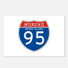 Interstate 95 - RI Postcards (Package of 8)