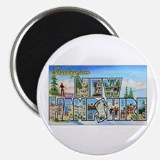 New Hampshire Greetings Magnet