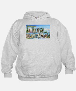 New Hampshire Greetings (Front) Hoodie