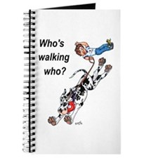 Who's walking who Journal