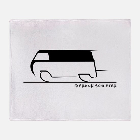 Speedy Transporter Throw Blanket
