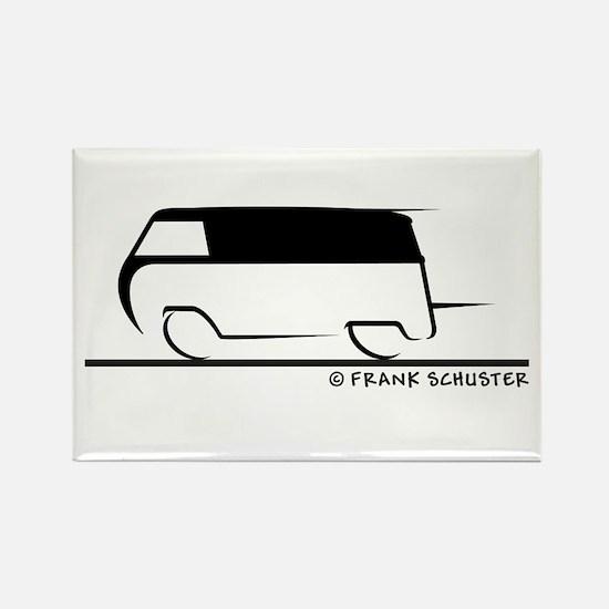 Speedy Transporter Rectangle Magnet