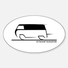 Speedy Transporter Sticker (Oval)