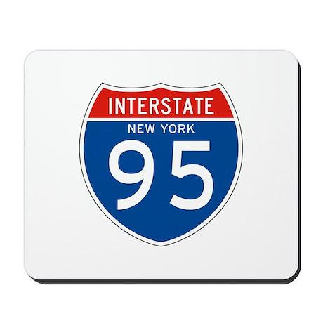 Interstate 95 - NY Mousepad