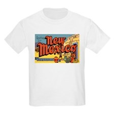 New Mexico Greetings (Front) Kids T-Shirt