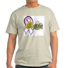 Breast Cancer Awareness - HOPE Ash Grey T-Shirt