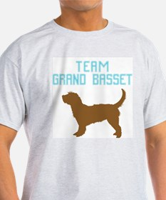 Grand Basset Griffon Vendeen Ash Grey T-Shirt