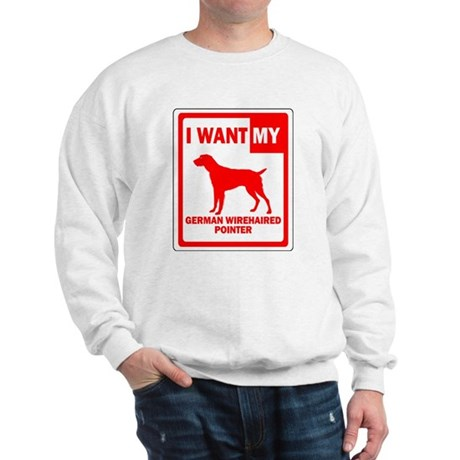 German Wirehaired Pointer Sweatshirt
