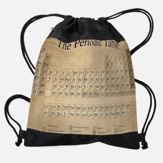 Periodic Table Drawstring Bag