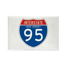 Interstate 99 - PA Rectangle Magnet