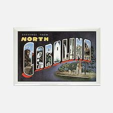 North Carolina Greetings Rectangle Magnet