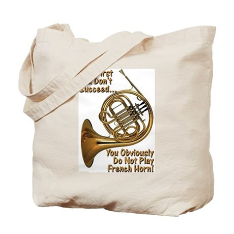 French Horn Perfection Tote Bag