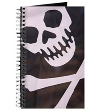 Close-up of pirate flag Journal