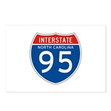 Interstate 95 - NC Postcards (Package of 8)