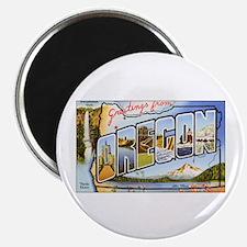 Oregon Greetings Magnet