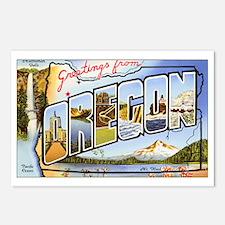 Oregon Greetings Postcards (Package of 8)