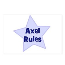Axel Rules Postcards (Package of 8)