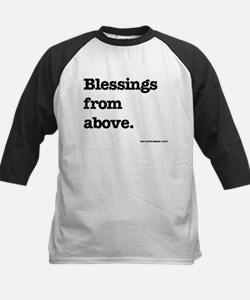 Blessing from above. Baseball Jersey