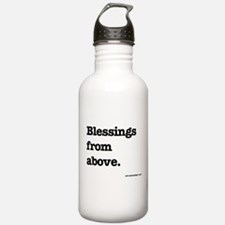 Blessing from above. Water Bottle
