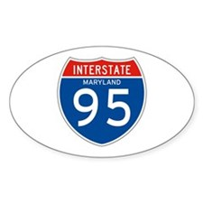Interstate 95 - MD Oval Decal