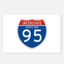 Interstate 95 - MD Postcards (Package of 8)