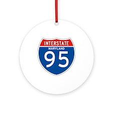 Interstate 95 - MD Ornament (Round)