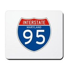 Interstate 95 - MD Mousepad