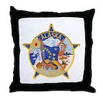 Alaska State Troopers Throw Pillow