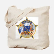 Alaska State Troopers Tote Bag