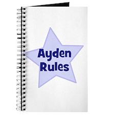 Ayden Rules Journal