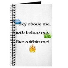 Fire Within Me Journal