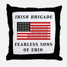 IRISH BRIGADE Throw Pillow