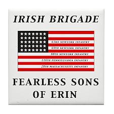 IRISH BRIGADE Tile Coaster