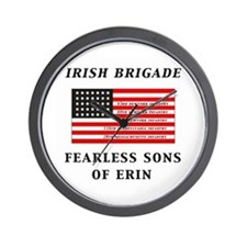 IRISH BRIGADE Wall Clock