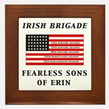 IRISH BRIGADE Framed Tile
