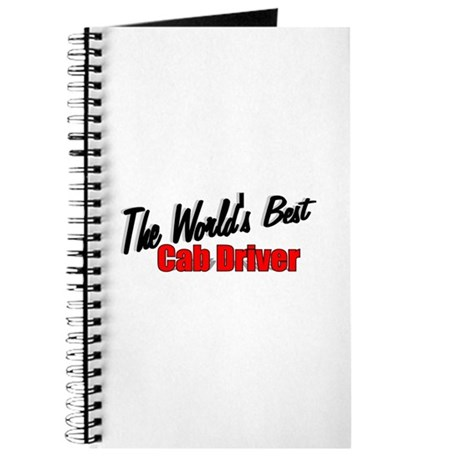 """""""The World's Best Cab Driver"""" Journal"""