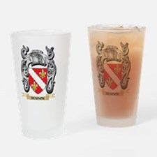 Denison Coat of Arms - Family Crest Drinking Glass