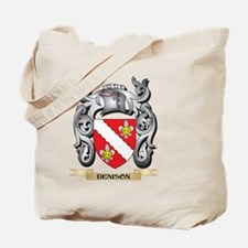 Denison Coat of Arms - Family Crest Tote Bag