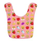 Emojione Fleece Bibs