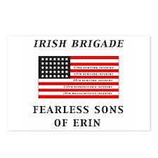 IRISH BRIGADE Postcards (Package of 8)