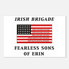 IRISH BRIGADE Postcards (Package of 8)