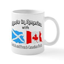 Scottish-French Canadian Small Mugs