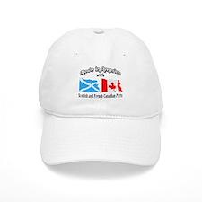 Scottish-French Canadian Baseball Cap