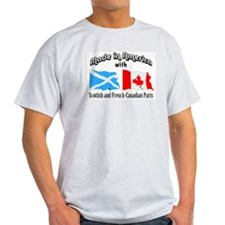 Scottish-French Canadian T-Shirt