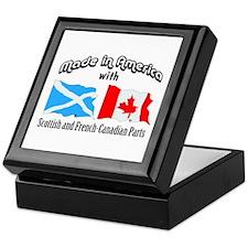 Scottish-French Canadian Keepsake Box